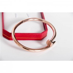 High Quality Cartier Juste Un Clou Rose Gold Bracelet  65EDA2399AAE
