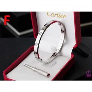 High Quality Cartier Love Bracelet With Silver Stones  E351B40CC931