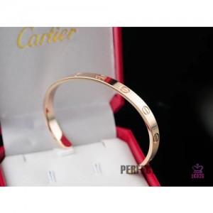 High Quality Cartier Love Rose Gold Open Bracelet  B3B4493FB075