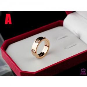 High Quality Cartier Love Ring 7  B66BA77BB3CA