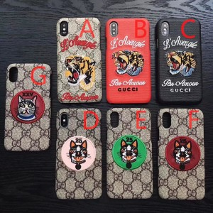Gucci iphone6-7-8-plus-X Cell High Quality phone case ASS01058