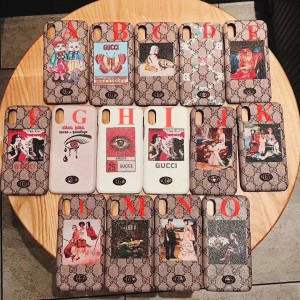 Gucci iphone6-7-8-plus-X Cell prefect phone case ASS01063