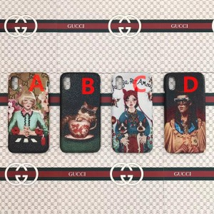 Gucci iphone6-7-8-plus-X Cell prefect phone case ASS01064