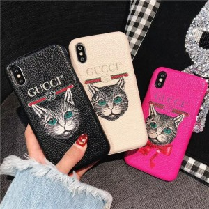 Gucci iphone6-7-8-plus-X Cell prefect phone case ASS01066