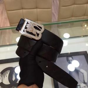 B-Burberry silver buckle belt ASS02028