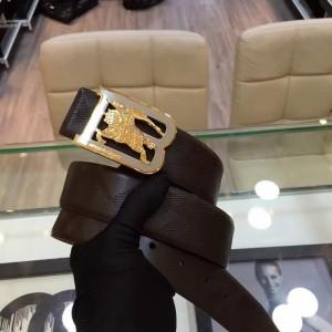 B-Burberry Gold silver buckle belt ASS02029