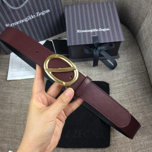 Oval Ermenegildo Golden buckle belt ASS02044
