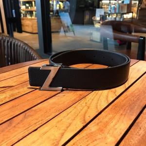 Ermenegildo Silver buckle belt ASS02047