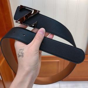 Black Ermenegildo Zegna buckle belt ASS02050