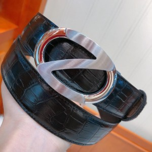 Ermenegildo Zegna Silver buckle belt ASS02054