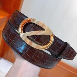 Ermenegildo Zegna Gold buckle belt ASS02055