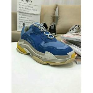 High Quality Balenciaga Triple S Sneaker Blue Triple006