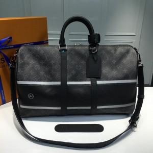 Louis Vuitton Luxury x Fragment Keepall 45 Bandouliere (monogram eclipse black) LV04BM030