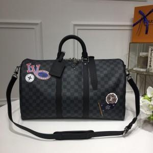 Louis Vuitton Luxury keepall bandouliere 45 trunk bag (N41507) LV04BM073