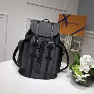 Louis Vuitton Luxury 53414 Supreme BAG GRAY LV04BM081