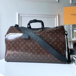 Louis Vuitton Luxury monogram keepall bandouliere 50 (m43899 glaze) LV04BM083