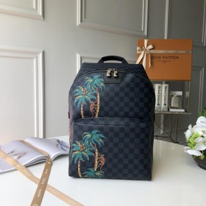 Louis Vuitton Luxury Apollo shoulder pack palm tree detail LV04BM085