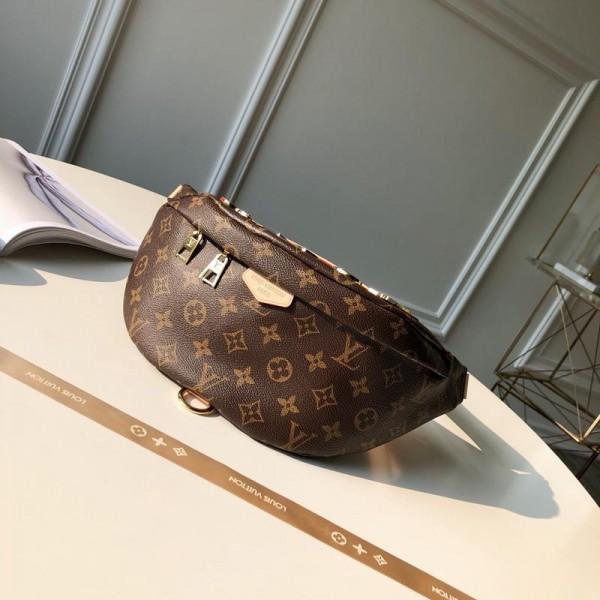 Louis Vuitton Luxury M43644 BAG versatile light brown bag LV04BM089