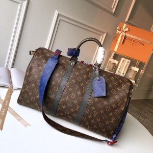 Louis Vuitton Luxury keepall bandouliere 55 monogram canvas LV04BM096