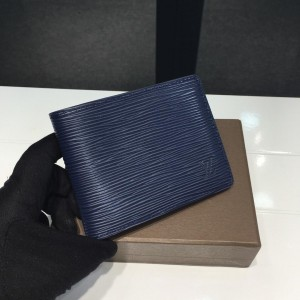 Louis Vuitton Luxury M60628 navy blue WALLET LV04WM072