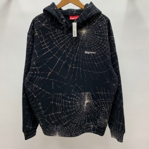 Supreme Prefect Quality 16AW Spider Web Hooded Hoodie MC280005