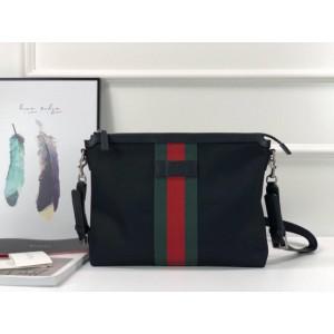Gucci Perfect Quality black canvas handbag GC06BM042
