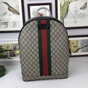 Gucci Perfect Quality simple brown back pack GC06BM104