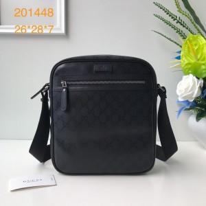 Gucci Perfect Quality black messenger bag GC06BM108