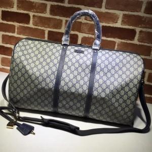 Gucci Perfect Quality cream-navy blue duffel bag  GC06BM147