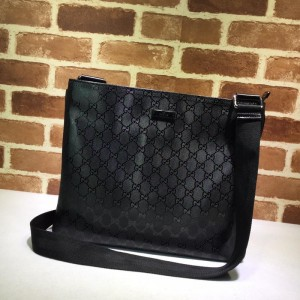 Gucci Perfect Quality black flat sling bag with glossy finishing GC06BM152