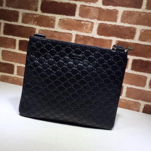 Gucci Perfect Quality black flat sling bag with glossy finishing GC06BM153