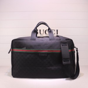Gucci Perfect Quality black canvas office bag  GC06BM161