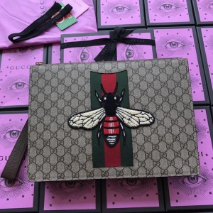 Gucci Perfect Quality bee brown purse GC07BM001