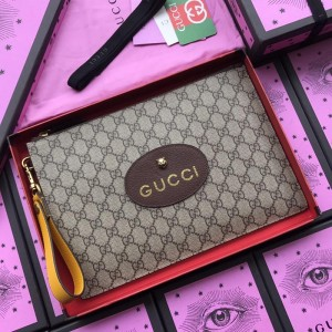 Gucci Perfect Quality brown canvas purse GC07WM039