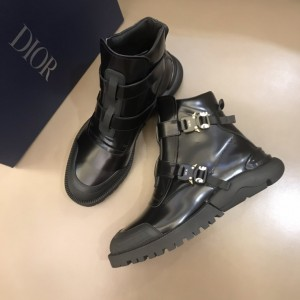 Dior Alyx buckle combat boots MS021045
