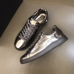 Valentino High Quality Sneakers Brown and VLOGO embroidery with black sole MS021333 Updated in 2019.11.28