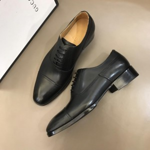 Gucci Black Bright Loafers MS02656