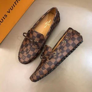 Louis Vuitton Arizona Moccasin Loafers for Men (Brown) MS02783