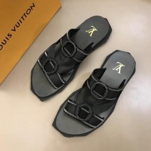 Louis Vuitton black Sandal MS02806