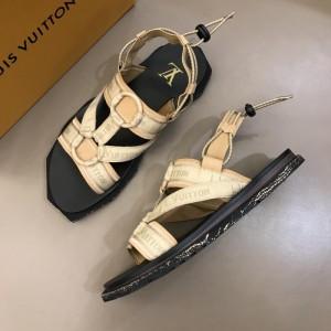 Louis Vuitton Black Sandal With LV Monogram MS02808