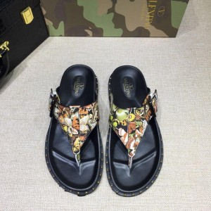 Valentino flip-flop in camouflage(yellow/orange) Sneakers MS07001