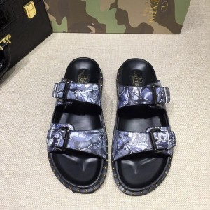 Valentino flip-flop in camouflage(gray/purple) Sneakers MS07002