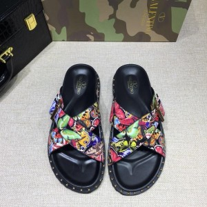 Valentino flip-flop in camouflage(pink/green/pink) Sneakers MS07003