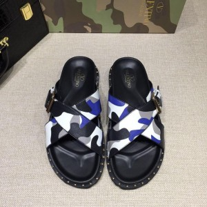 Valentino flip-flop in camouflage(white/blue/black) Sneakers MS07005