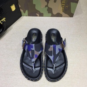 Valentino flip-flop in camouflage(gray/blue/black) Sneakers MS07006