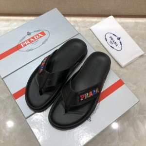 Prada flip-flop with colorful letter MS071230
