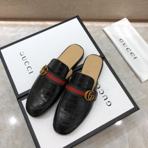 Gucci blackSlipper with double G MS07520