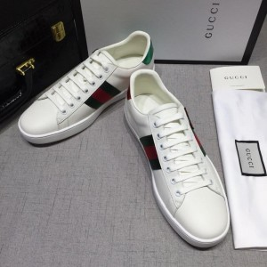 Gucci Fashion Sneakers White and cat embroidery with white sole MS07760