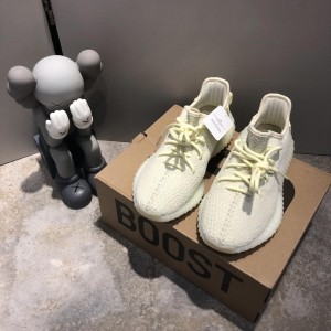 Adidas Yeezy Boost 350 V2  Ice Yellow Shoes MS09013
