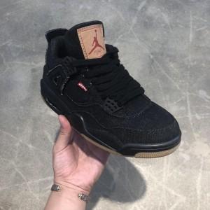 Levi's×Air Jordan 4 AJ4 AO2571-001 Sneaker MS09067